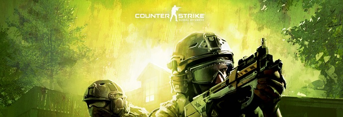 Counter Strike homepage