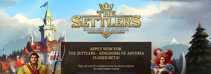 The Settlers homepage